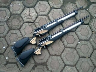 PCP Wolverine chamber cnc tabung dural od 38. Laras seamles import